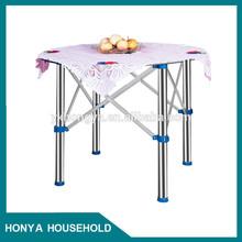 easy to handle convenient plastic folding table children