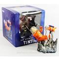 """Les aventures de de los exploradores de tintín en la luna 3.9"""" de color naranja de la figura de juguete nuevo en caja"""