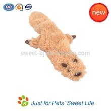2015 Hot Sale High Quality Animal Shape Plush Pet Dog Toys