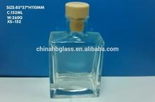 2015 wholesale fragrance glass bottles , 152ml glass bottle.perfume bottle,high quality