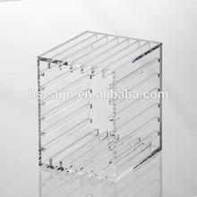 high quality plastic frame acrylic box /hold things/high transperant