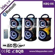 2015 Karaoke Fitting Wireless Speaker In Shenzhen BQB certificate Wooden 5.1 subwoofer speaker