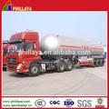 32 CBM glp gás caminhão tanque, Glp planta, Semi reboque glp petroleiro
