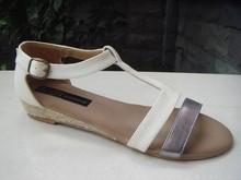 2014 Lastest comfortable stylish sandals no heel sandals
