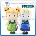 mini Qute yeni sıcak satış 33 cm kawaii karikatür peluş dondurulmuş bebek prenses anna ve elsa olaf girsl çocuk çocuklar hediye oyuncak