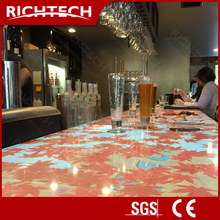 RichTech interative projection bar table system innovation for night club