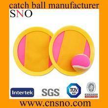 beach velcro catch ball plastic velcro throw and catch ball