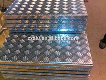 Cost price of Five bars stucco diamond pattern semi-circle ball embossed aluminum sheet for threadplate antislip