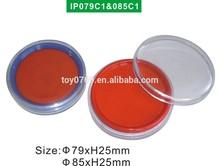 Ystamper Popular round Stamp pad Hot designs Popular circle Ink pad