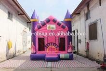 Commercial 18oz inflatable princess bouncy castle