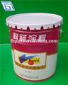 Litro 18 precio bajo de la placa de estaño cubo para el producto químico/de aceite de uso