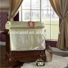 Luxury pure silk duvet/chinese silk comforter Double size