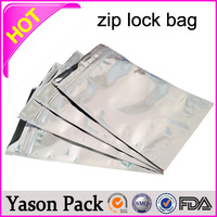 Yason reclosable zip plastic bags ziplock plastic pouch plastic bags for mobile phones