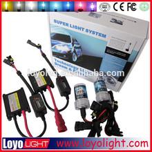 Hot selling 12v 35w AC slim hid xenon kit 8000k 6000k 4300k h1 h7 h4