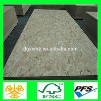 wholesale unfinished furniture interior wall paneling melamine osb board