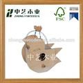 2015 Jahr china lieferant fsc& sa8000 günstigen preis Garten neue unvollendet holz handwerk hängende vogelhaus fabrik großhandel