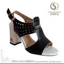 Summer newest nice design ladies pu sandals