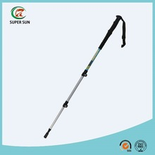 ultra-light aluminum 7075 EVA grip walking stick hiking pole