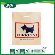 wholesale hdpe disposable handle plastic retail shopping bag