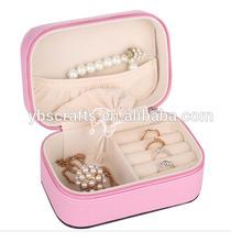 Snake Grain PU Leather Jewelry Foldable Box for Jewaley