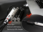 new vaporizer technology best battery cell ecig dual heating clearomizer portable battery charger
