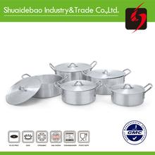Yongkang top quality cheap aluminum ceramic decorative brass pot