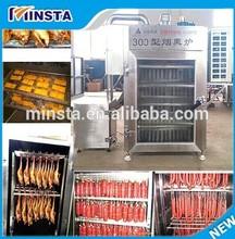electric automatic industrial sausage smoke machine dried meat machine sausage smoking house sale