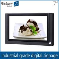Flintstone 7'' pos led advertising display , screen lcd elevator display, lcd tv replacement screen