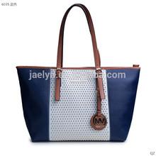 2015 hot sale Europe and America style good quality jet set studded tote bag PU lady handbag shoulder bag replica women bag