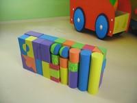 3D model eva foam building block toys for kids