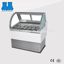 26D 170L italian ice cream popsicle display freezer case