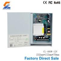 12V 24V 48V Constant Voltage 400W Rainproof led power supply