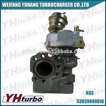 kkk k03 53039880016 turbo para um udi