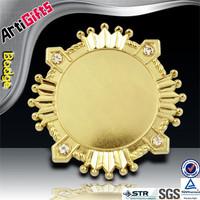 Custom cheap screw uae falcon medal badge