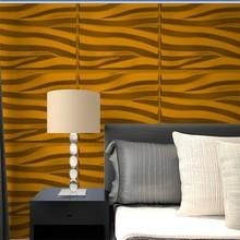 3d effect glitter wallpaper bamboo design for clothes shop