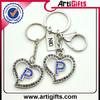 Customized design 3d famous brand logo customized key chain