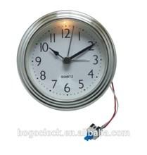 Chrome plating insert clock