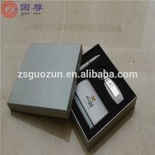 Business Card Holder Pen Gift Set /Pack Key Chain Pen Card Holder