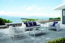 rattan furniture fashion modeling stick sofa 5pcs sets