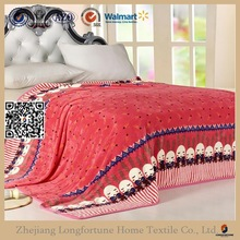 buy direct from mexico super soft print coral fleece blanket NZW087