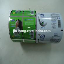 Laminado uso de embalagens de alimentos filme multicamadas