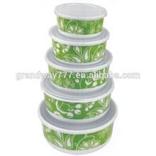 Round Melamine Bowl.Melamine Bowl Set,Plastic Bowl With Lid