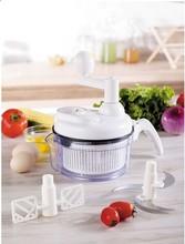 Efficient Manual Salad Vegetable Chopper