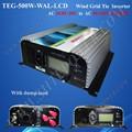 3 fasi 500w di potenza eolica sistema per la casa, ac generatore di vento inverter 500w 10.8v-28v