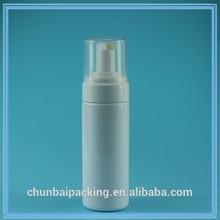 China hand soap pump, black foaming bottle 150ml, PE/PET