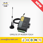 Industrial GSM meter reading modem with 5 I/O port and RS232/RS485 interface support TCP/IP & Modbus protocol