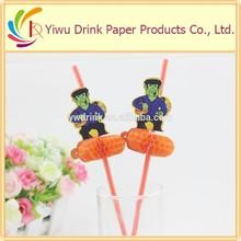 2015 high quality plastic decoration straw