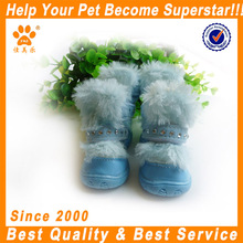 JML New design fashion low price rubber waterproof dog winter boots
