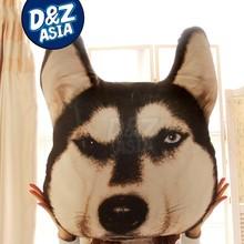 Custom plush bulldog husky design original plush emoji pillows