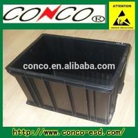 antistatic esd plastic container